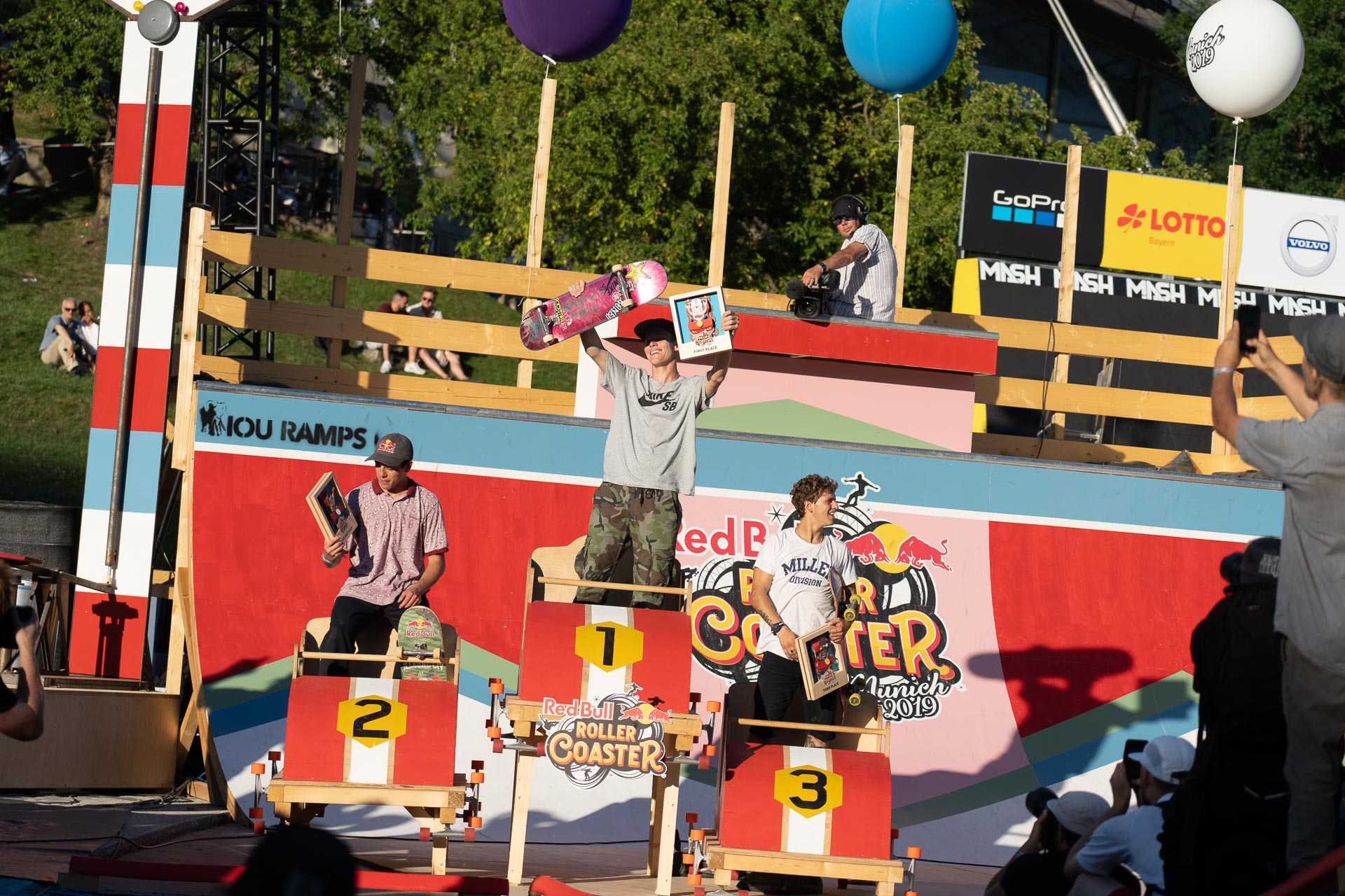 Red Bull Roller Coaster Male Podium